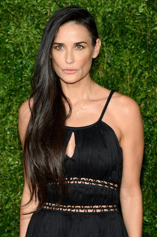 Demi Moore in primo piano