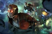 Gli eroi di Guardian of the Galaxy: The Telltale Series in azione