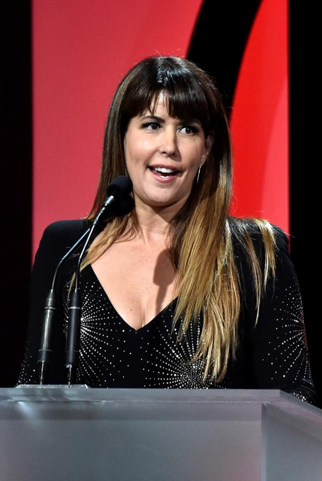 Patty Jenkins in primo piano