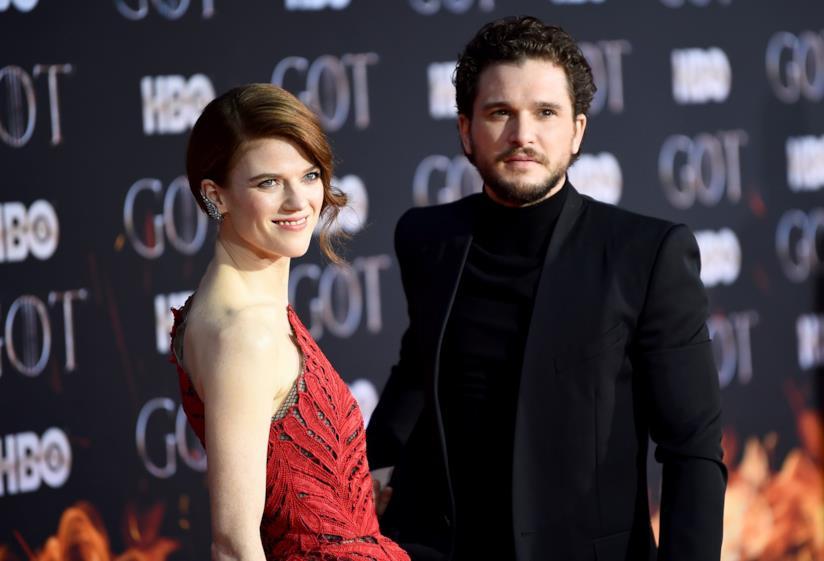 Game of Thrones 8: Rose Leslie e Kit Harington