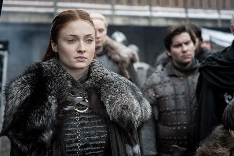 Un primo piano di Sansa Stark
