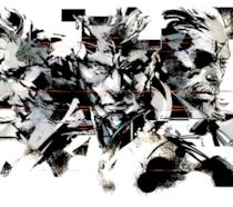 I protagonisti della serie Metal Gear in un concept art di Yoji Shinkawa