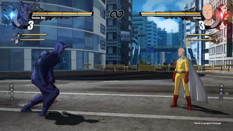 One Punch Man gameplay