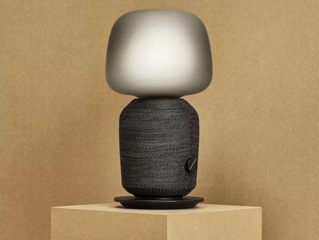 La lampada con speaker WiFi di Ikea