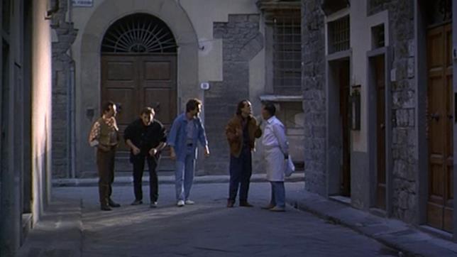 Scena del film I laureati