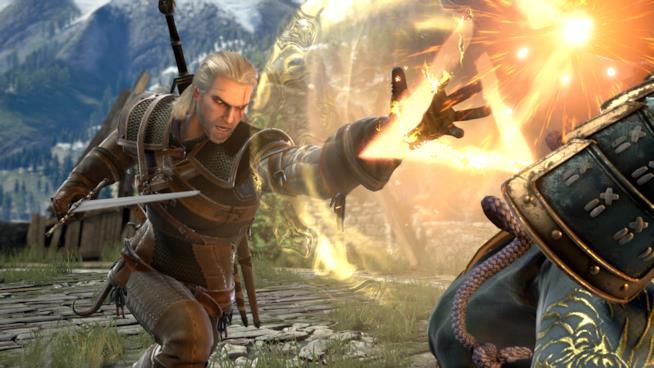 Geralt di Rivia sarà un guest character in SoulCalibur VI