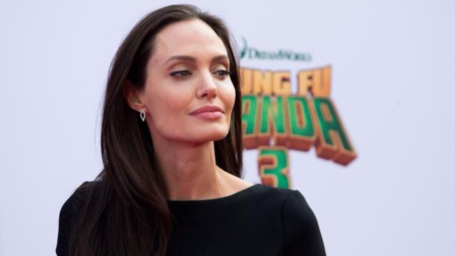 Angelina Jolie alla première di Kung Fu Panda 3