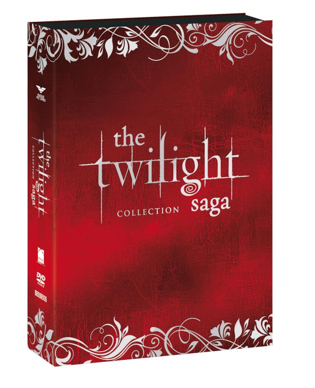 Twilight Saga - cofanetto rosso 10 anni