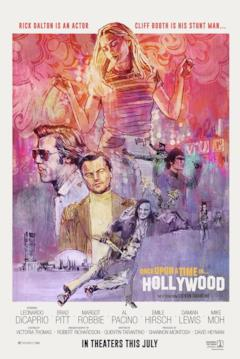 Il poster di Once Upon a Time in... Hollywood
