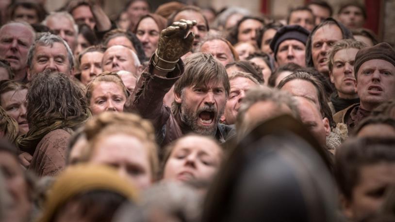 GoT 8x05: Jaime Lannister fuori dalle mura della Cpaitale