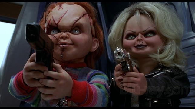 I personaggi Chucky e Tiffany