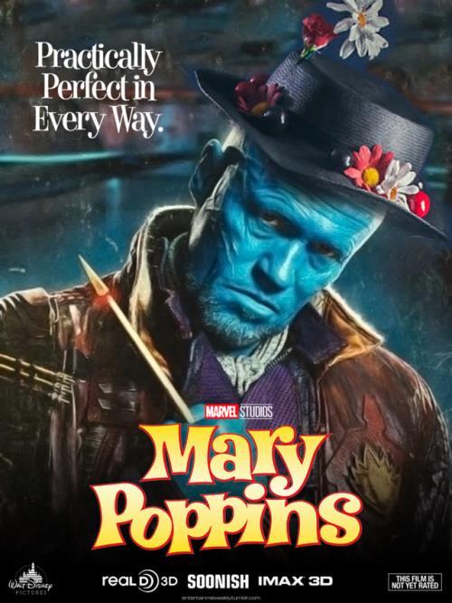 Michael Rooker è Yondu Poppins