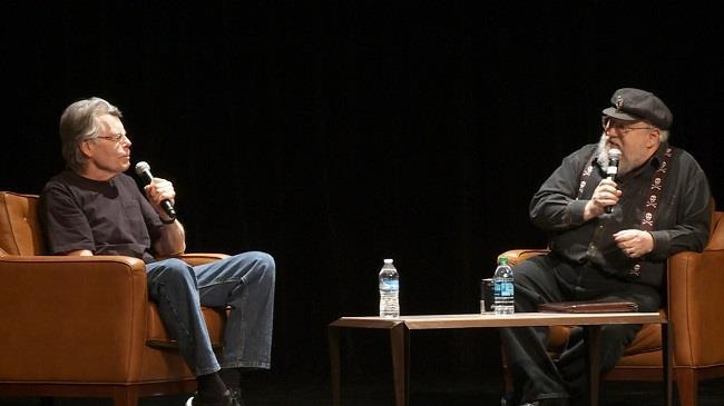 George R.R. Martin intervista Stephen King