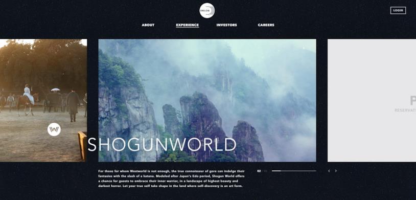 Shogun World: la descrizione sul sito ufficiale