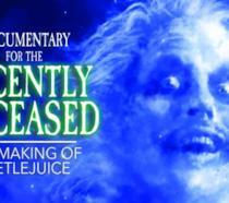 Il poster del documentario dedicato a Beetlejuice