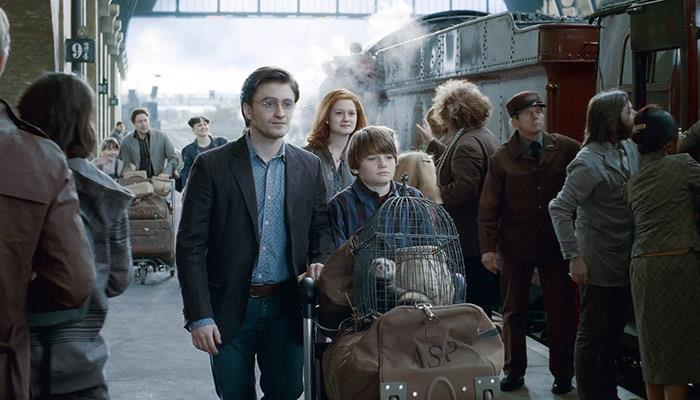 Harry Potter e i Doni della Morte - Parte II scena tratta dal finale