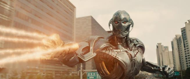Ultron nel secondo film degli Avengers