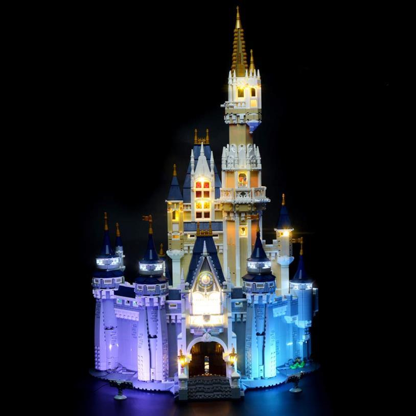 Illuminazione Castello Disney Lego