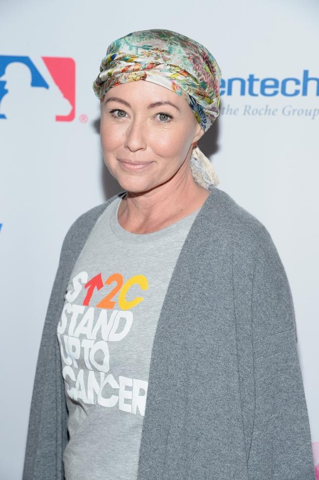 Shannen Doherty malata di tumore al seno