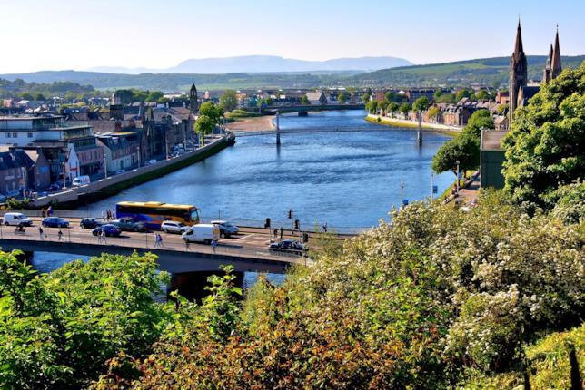 Inverness è il maggiore centro delle Highlands scozzesi