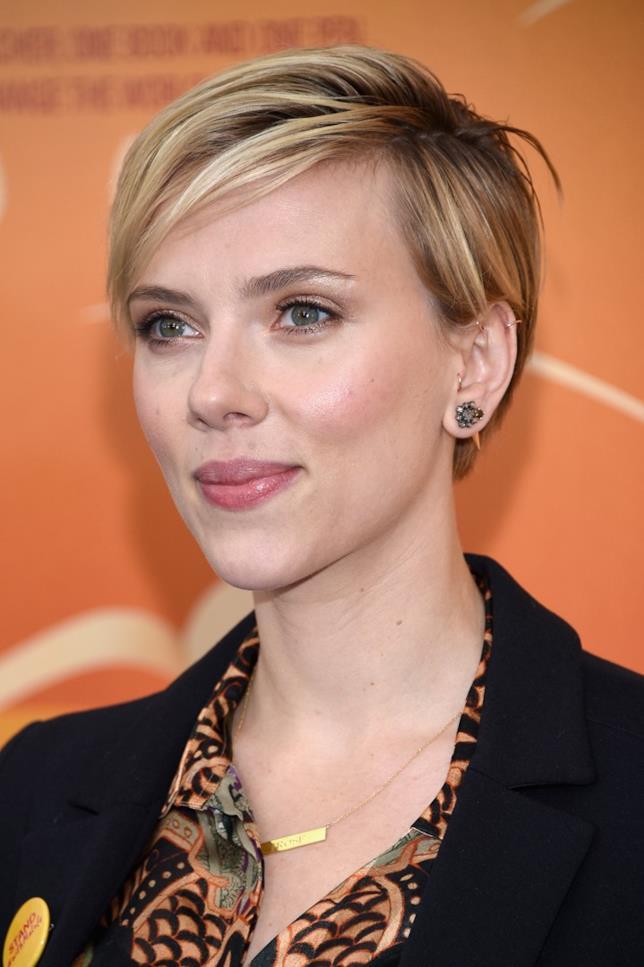 Scarlett Johansson alla premiere di Malala