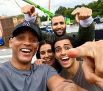 Il cast di Aladdin nel primo selfie dal set