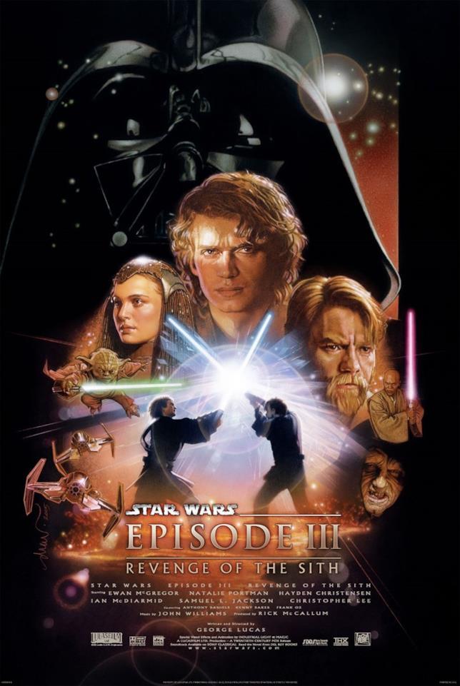 Poster de La vendetta dei Sith