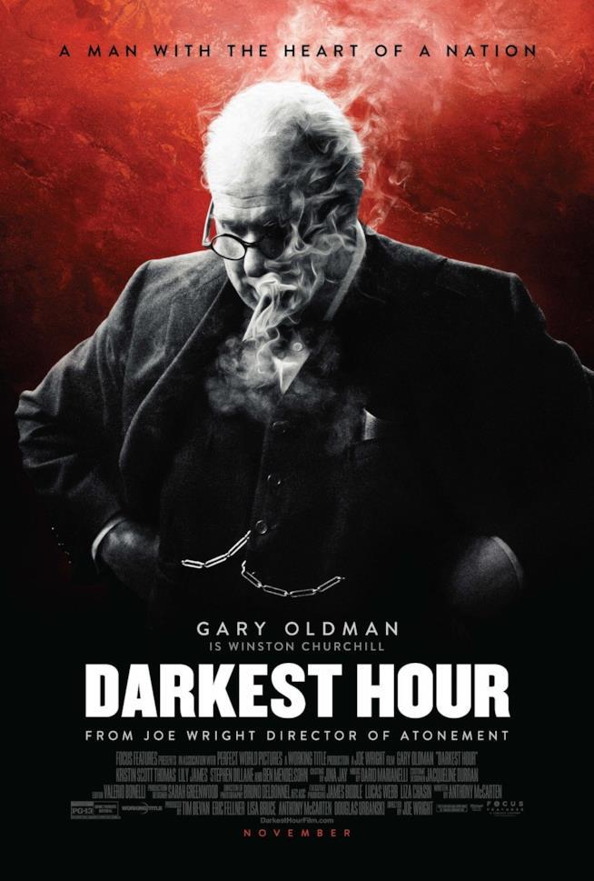 Il poster de L'ora più buia