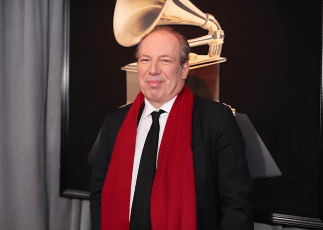 Mezza figura del compositore Hans Zimmer