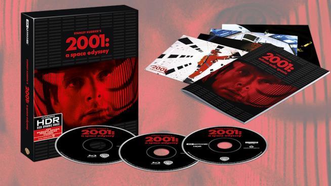 Il cofanetto 4K Ultra HD di 2001: Odissea nello Spazio