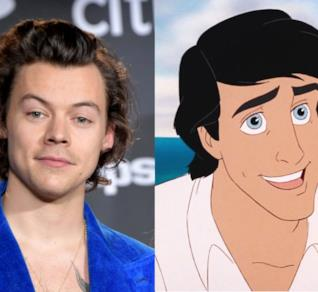Harry Styles e il Principe Eric