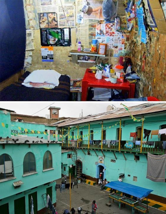 La Prigione San Pedro, La Paz, Bolivia