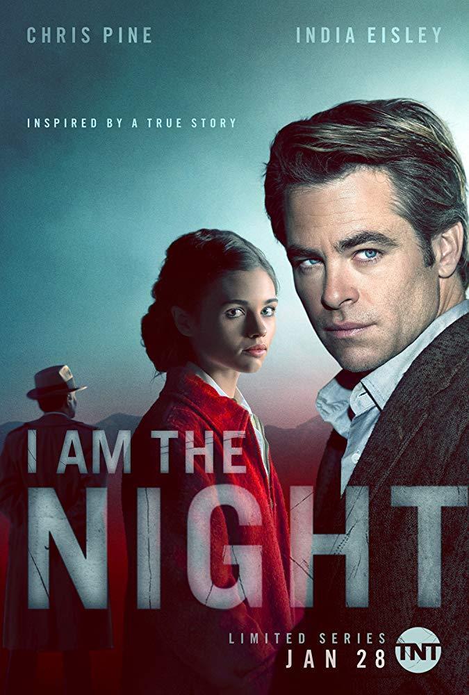 India Eisley e Chris Pine nel poster di I Am the Night