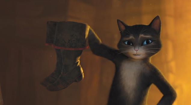 Kitty Zampe di Velluto, con gli stivali del protagonista