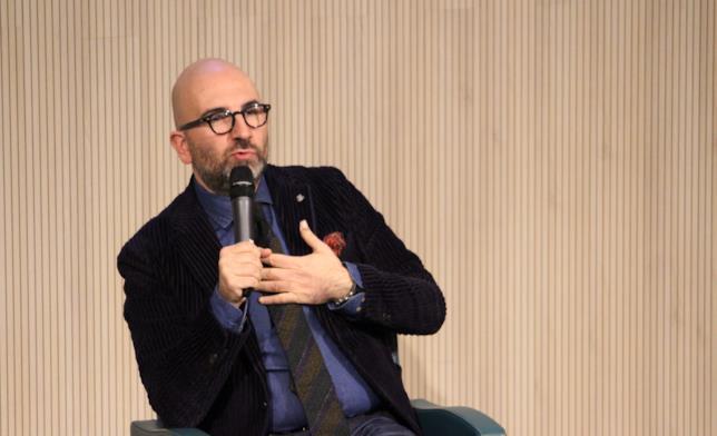 Lo scrittore Donato Carrisi