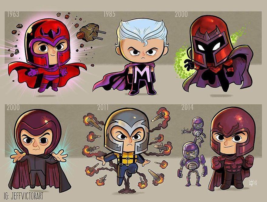 L'evoluzione delle icone della cultura pop: Magneto