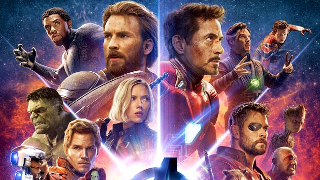 I protagonisti del blockbuster Marvel Avengers: Infinity War
