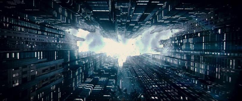 Un'immagine tratta dal trailer del film