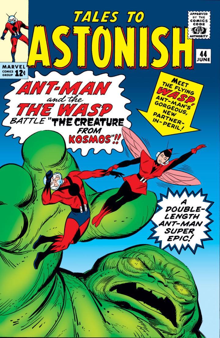 L'esordio a fumetti di Wasp