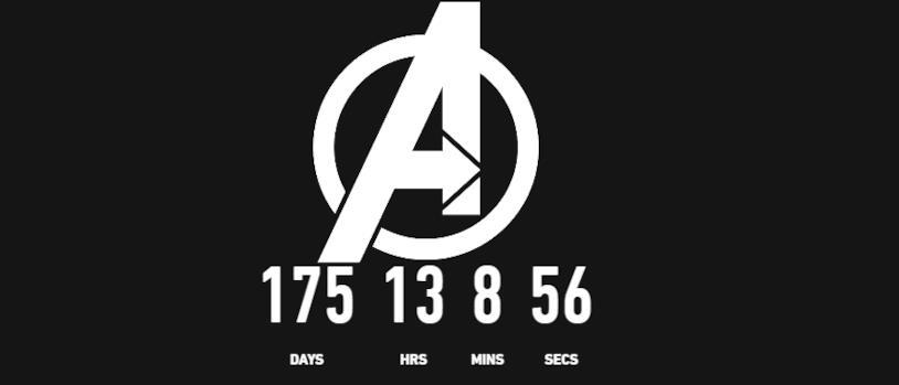 Il conto alla rovescia per l'uscita di Avengers 4