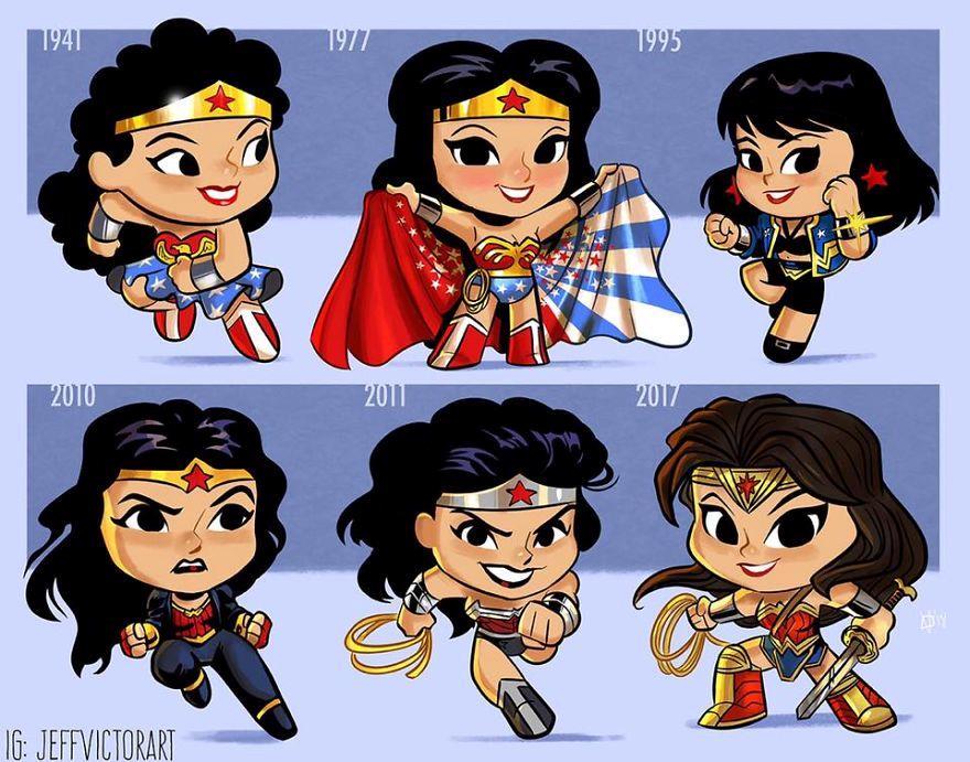 L'evoluzione delle icone della cultura pop: Wonder Woman
