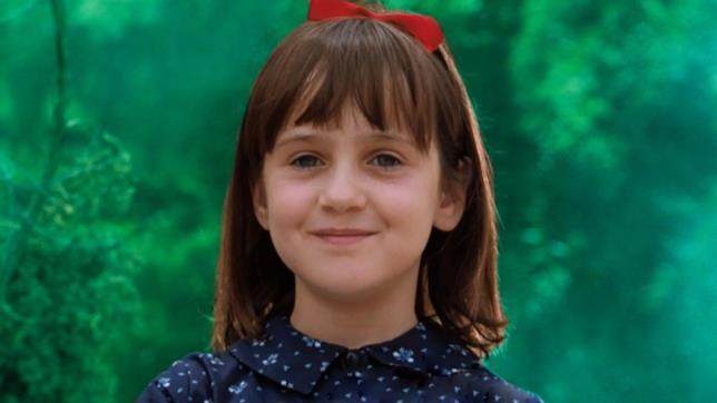 Matilda in una scena di Matilda 6 mitica