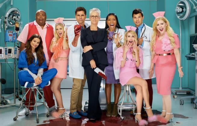 Il cast di Scream Queens 2