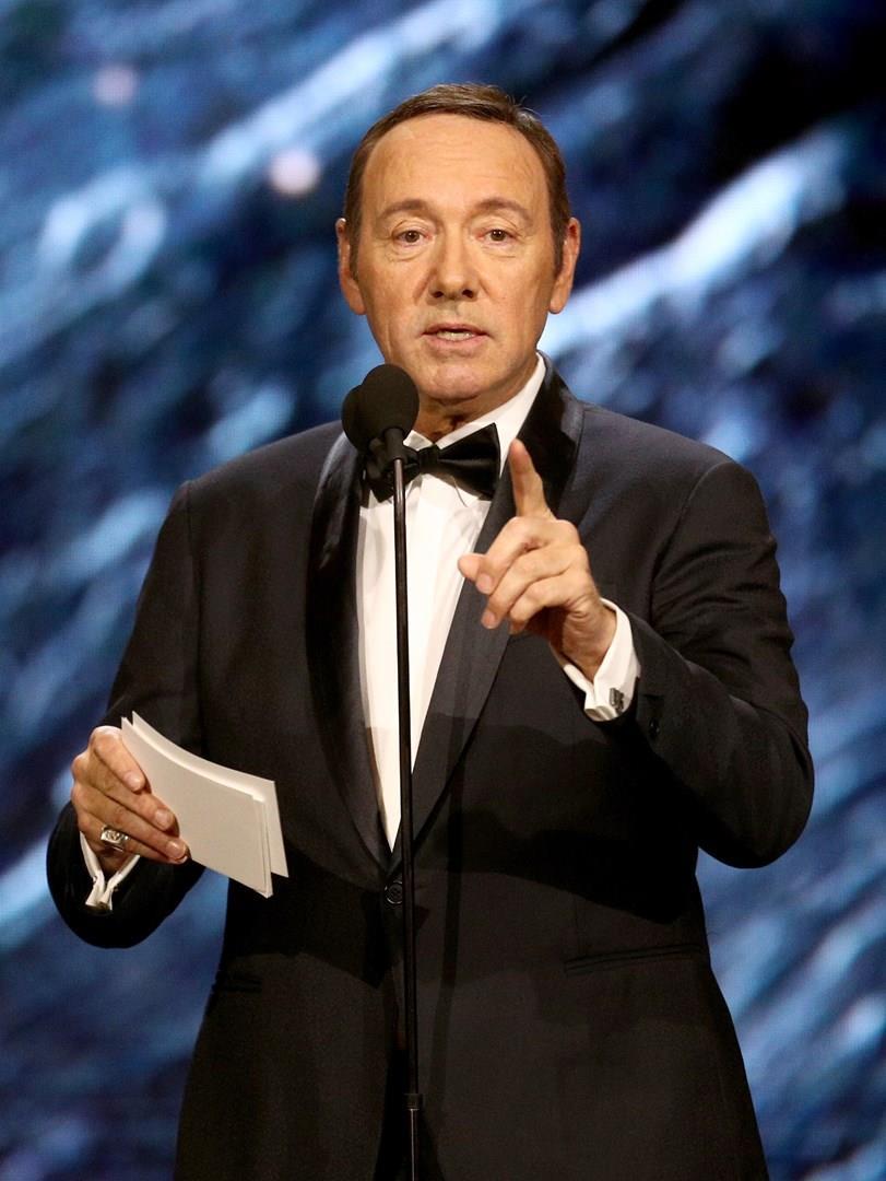 Kevin Spacey ai British Academy Britannia Awards