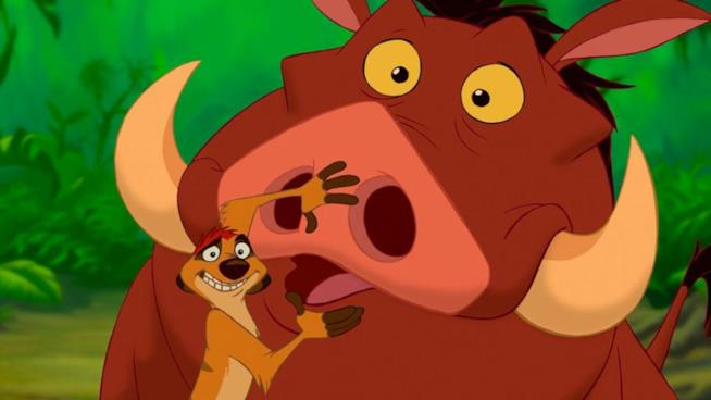 Timon e Pumbaa ne Il re leone