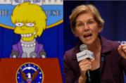 Lisa Simpson ed Elizabeth Warren