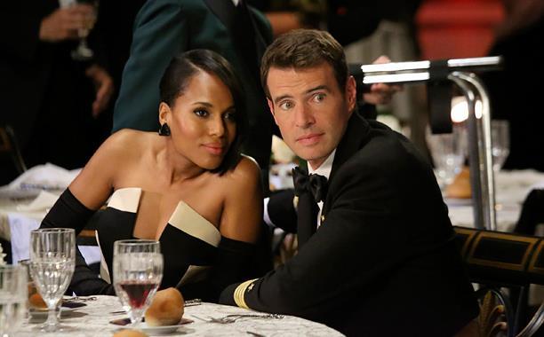 Olivia e Jake in una scena di Scandal