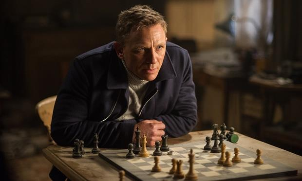 Daniel Craig nel precedente episodio di James Bond Spectre