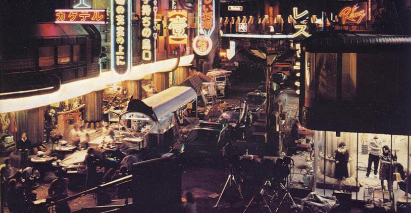 Il set di Blade Runner ai Burbank Studios
