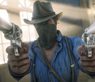 Il fuorilegge Arthur Morgan in Red Dead Redemption 2